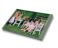 אלבום ברכות למסיבת רווקות A4 אנכי/פנורמי בכריכה קשה, 32 עמודים