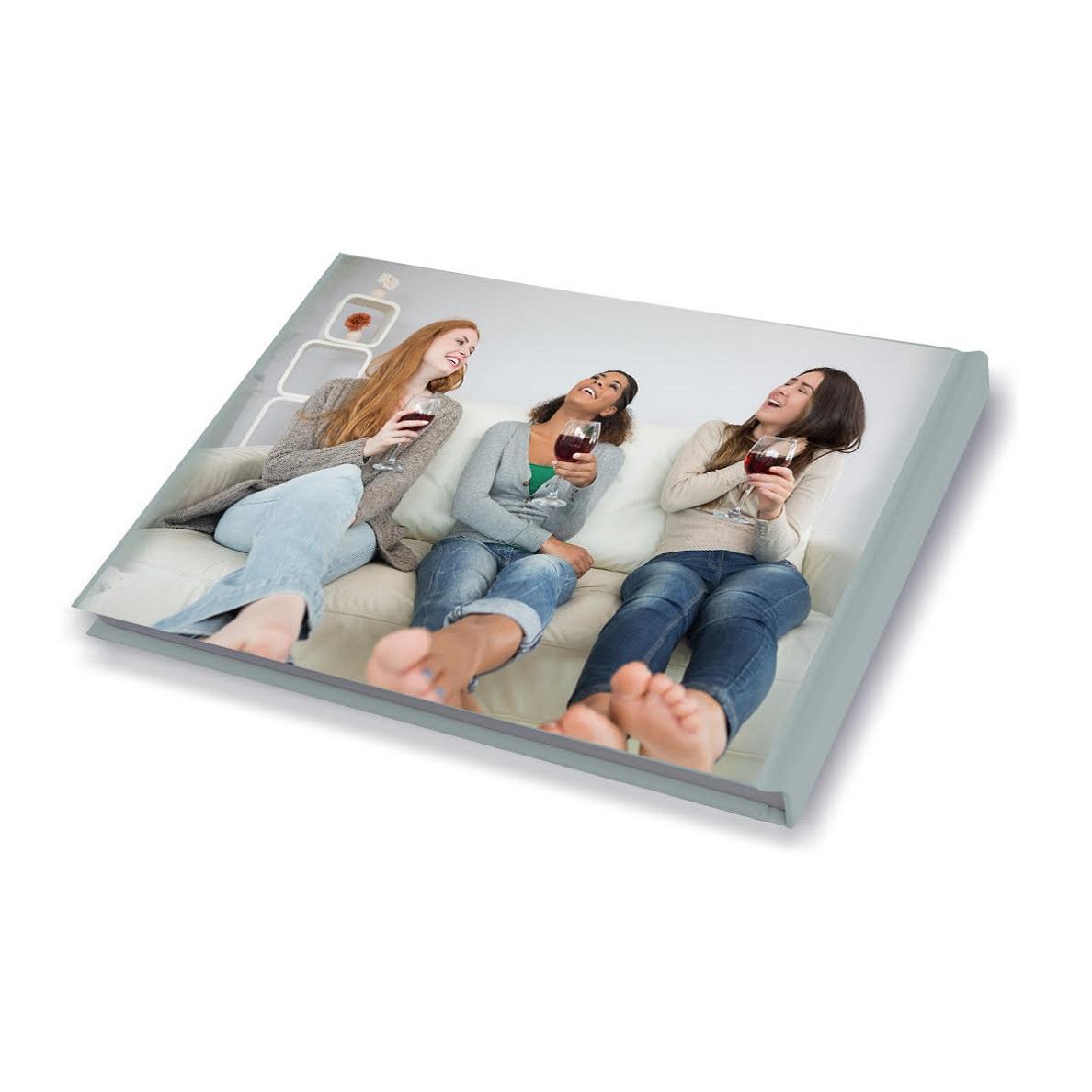 אלבום ברכות למסיבת רווקות A4 אנכי/פנורמי בכריכה קשה, 32 עמודים - תמונה 3
