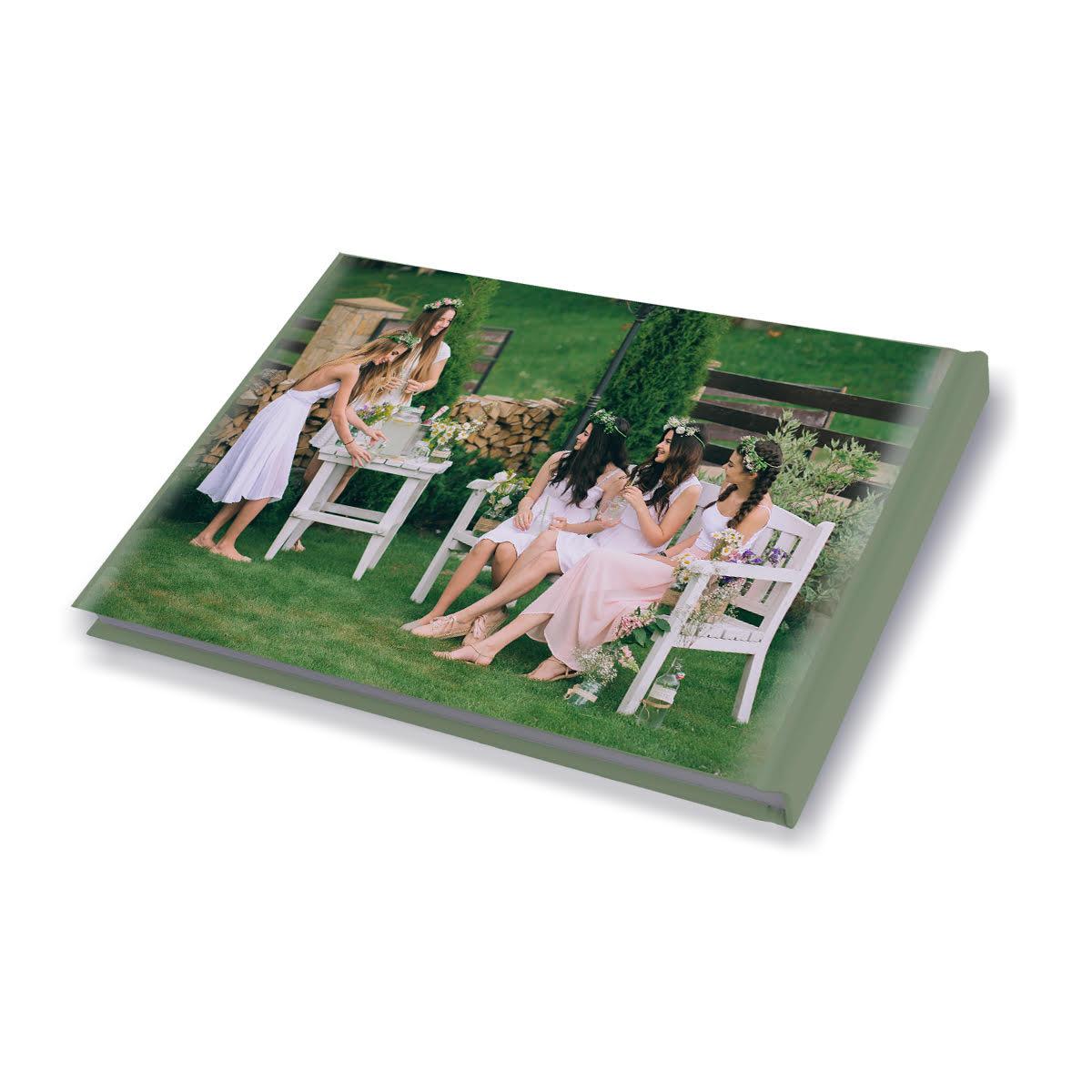 אלבום ברכות למסיבת רווקות 32 עמודים A4 אנכי/פנורמי
