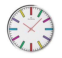 שעון קיר מחוגים צבעוני OLIVER HEMMING