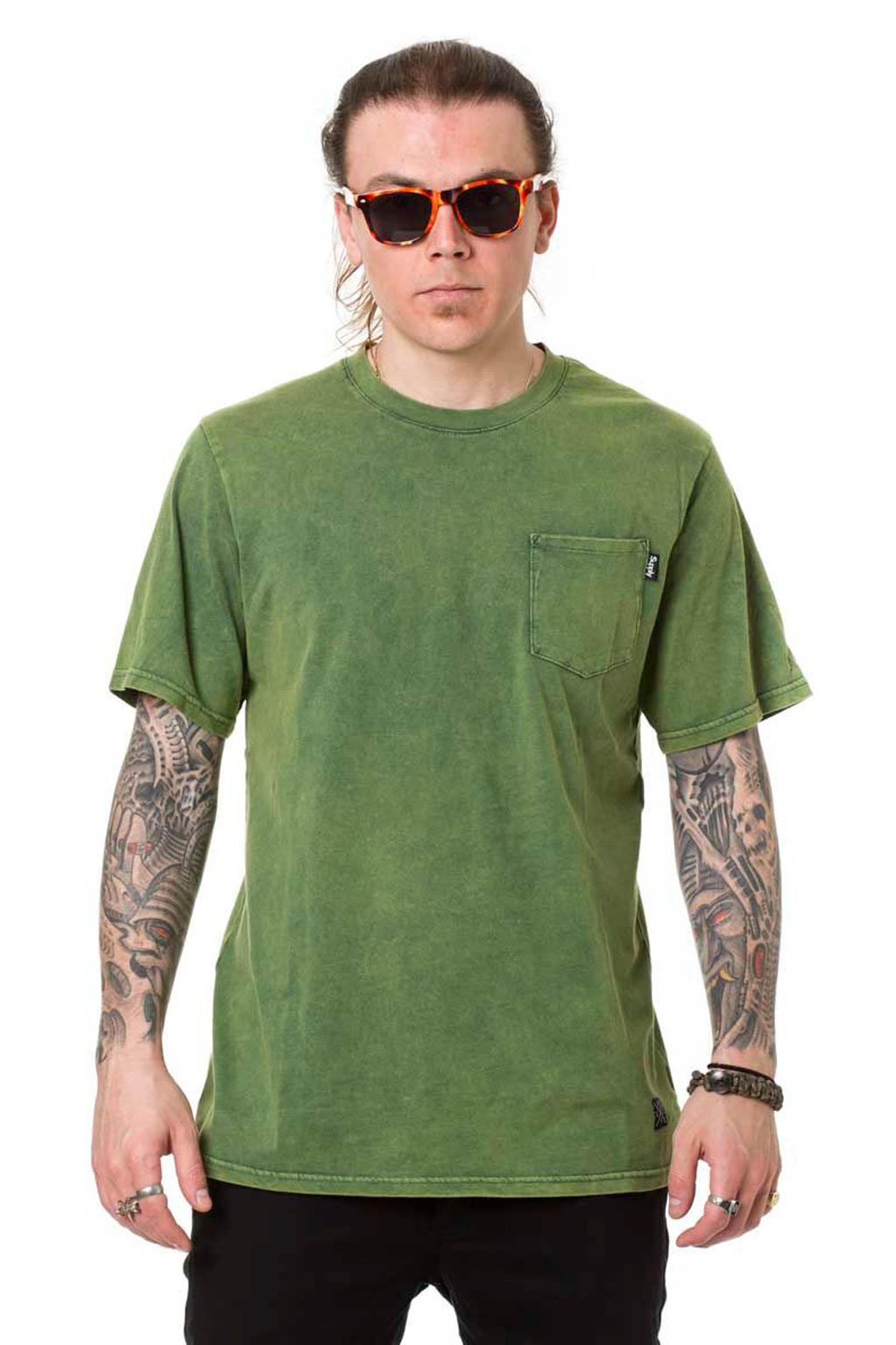 חולצת טי לגברים SUPPLY -ירוק