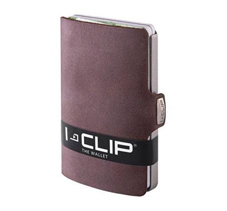 I-Clip סדרת 'Soft Touch' חום כהה