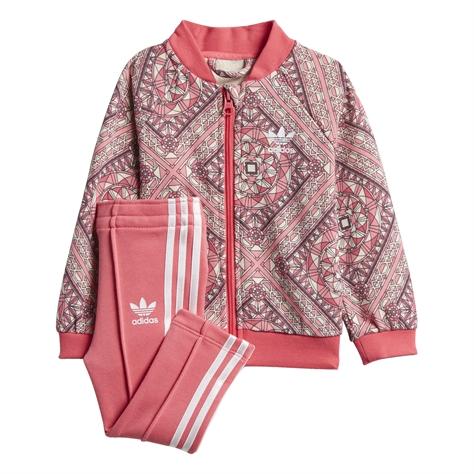Adidas ילדות// חליפה ארוכה I Pink Grphc