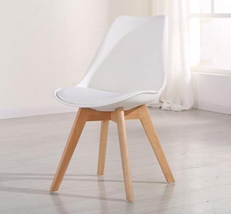 כיסא מעוצב לפינת אוכל דגם OSCAR עם מושב מרופד בדמוי עור מבית BRADEX - תמונה 4
