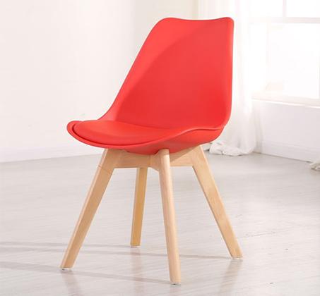 כסא לפינות אוכל בריפוד דמוי עור