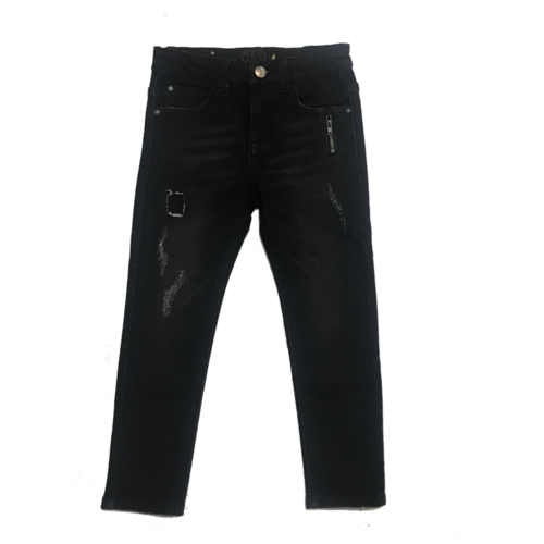 Oro ג'ינס(12 חודשים -16 שנים) - שחור רוכסן בכיס