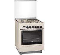 תנור משולב בעיצוב קלאסיצבע קרם Sauter דגם TSF6620IV