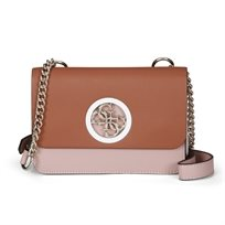 Guess נשים // Cool City Mini Crossbody Flap Mocha