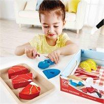 משחק דמיון באוכל - ארוחת חלבונים Hape