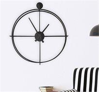שעון קיר מחוגים מעוצב דגם ROUND בגוונים לבחירה