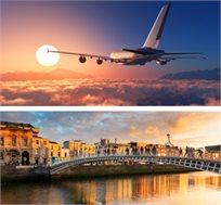 טיסה הלוך חזור לדבלין רק בכ-$295*