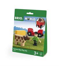 בריו Brio  ערכת חווה + ילד