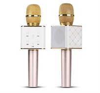 מיקרופון אלחוטי איכותי גדול לקריוקי בעל רמקול Bluetooth דגם Q7
