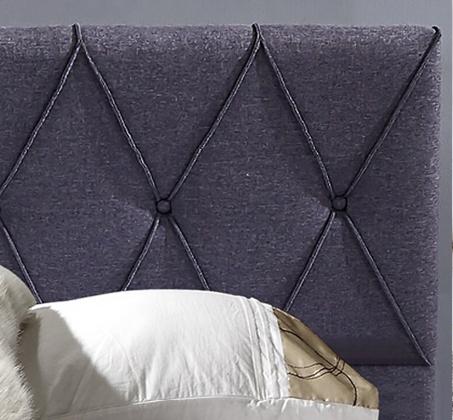 מיטה זוגית מעוצבת עם תיפורי נוי קאפיטונאז' בריפוד בד עם ארגז מצעים דגם אוליבר HOME DECOR - תמונה 4