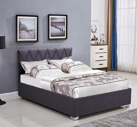 מיטה זוגית בעיצוב מודרני עם ארגז מצעים דגם OLIVER