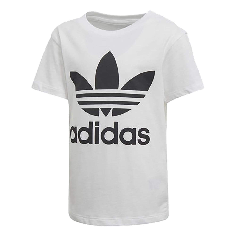Adidas ילדים// Trefoil Tee White