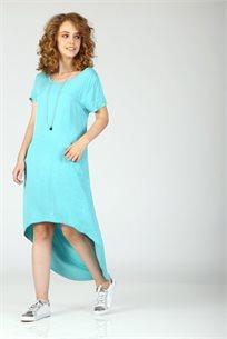 שמלה חושפת גב - מנטה - CUBiCA