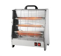 תנור קרמי 3 ספירלות מבית HYUNDAI עם רפלקטור ייחודי וגדול הנותן אפקט חימום יעיל יותר - משלוח חינם!
