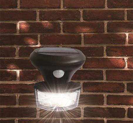 פנס סולארי בטכנולוגיית LED SMD ללא צורך בחיבור לחשמל HomeTown לבית ולחצר  - משלוח חינם - תמונה 3