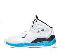 נעלי כדורסל דגם MILLENNIUM-HI BRIGHT WHITE בצבע לבן