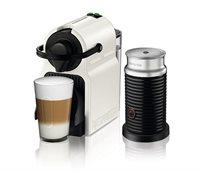 מבצע נספרסו! מכונת קפה Inissia בצבע לבן דגם C40 Bundle כולל מקציף חלב אירוצ'ינו מבית Nespresso - משלוח חינם!