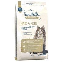 מזון לחתולים לפרווה ארוכה סנבל 10 ק''ג פרווה ועור
