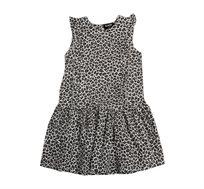 שמלת וולן לילדות Minene בצבע אפור בהיר