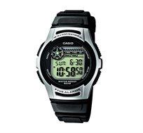 שעון יד דיגיטלי לילדים - שחור/כסוף