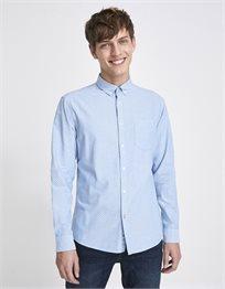 חולצה מכופתרת בגזרת slim מבד כותנה אוקספורד