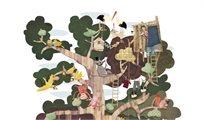פאזל העץ שלי - דו צדדי - Londji