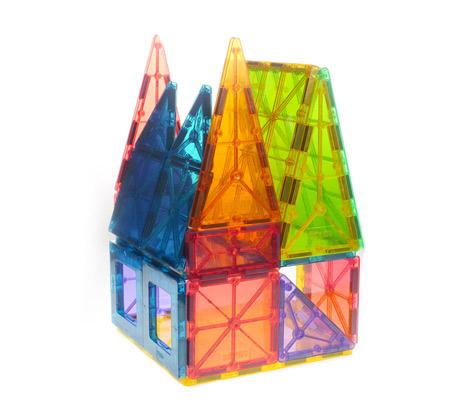 Magies המשחק שממגנט את הילדים - בונים עולם ממגנט - משלוח חינם - תמונה 5