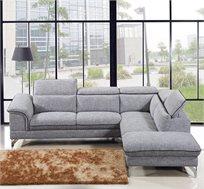 ספה פינתית עם ראשים מתכווננים דגם ברלין AMERICAN