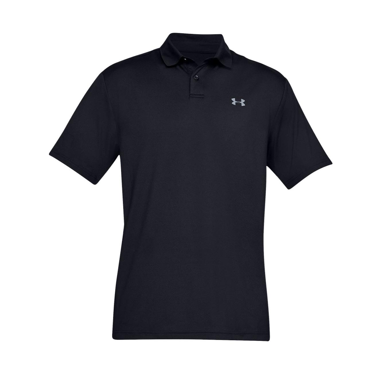 חולצת פולו לגברים Under Armour SS19 Performance Polo 2.0 - שחור
