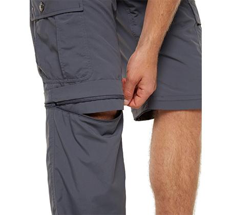 מכנסי מטיילים מתפרקים לגבר מאריג ניילון קל ונושם לייבוש מהיר
