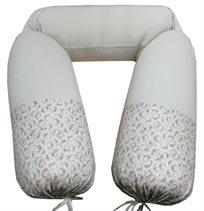 כרית הריון והנקה שרון דרור, דגם 315 - כאמל פרחוני