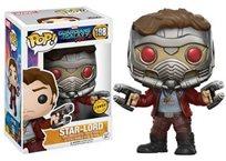 Funko Pop - Star Lord  Chase (Guardians Of The Galaxy Vol.2)  198 בובת פופ סטאר לורד שומרי הגלקסיה 2