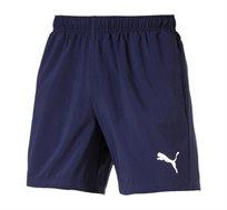 מכנסי אימון קצרים לגברים PUMA ESS Woven Shorts 5 בצבע כחול כהה