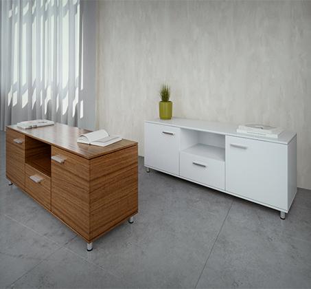 מזנון מודרני מעוצב בעל מגירה נשלפת תא ושתי דלתות משולב ידיות במגוון צבעים לבחירה  - תמונה 5