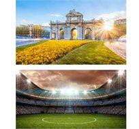"""חבילת ספורט למשחק הכדורגל ריאל מדריד-בטיס כולל 3 לילות במדריד ע""""ב א.בוקר רק בכ-€636* לאדם!"""