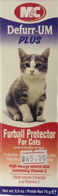 כדורי שיער - משחה לחתול נגד כדורי שיער דאפור Defurr