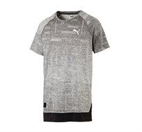 חולצת טי דגם L51730804 לגברים - אפור