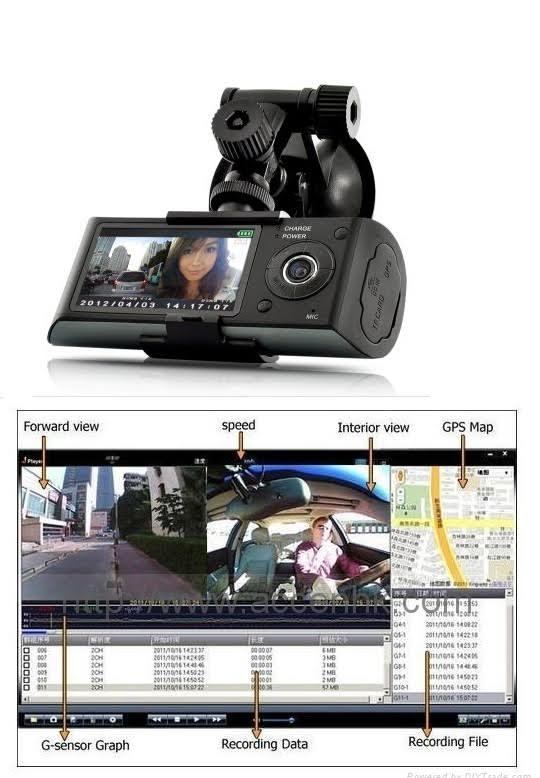 מצלמת דרך לרכב עם חיישני בטיחות הכוללת התרעה על שמירת מרחק וסטייה מהנתיב בזמן אמת  - משלוח חינם - תמונה 5