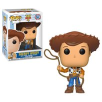Funko Pop - Sheriff Woody (Toy Story 4) 522  בובת פופ