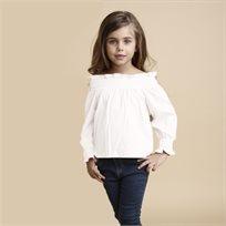 ORO חולצה (8-2 שנים) - סניוריטה לבן