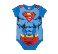 בגד גוף בהדפס סופרמן לתינוקות OVS בצבע כחול