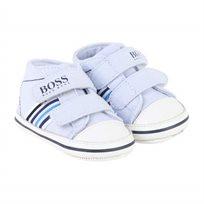 BOSS בוס נעלי תינוקות (מידה 21) - תכלת
