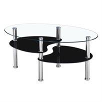 שולחן סלוני דו קומתי דגם BRISTOL