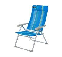 כיסא אלומיניום מתקפל בעל 8 מצבי ישיבה לגינה, קמפינג וים Australia Camp