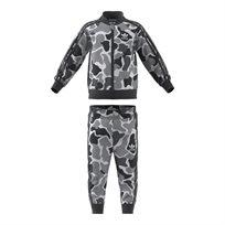 Adidas ילדים // Camo Trefoil Sst Track Suit Multicolor/Carbon