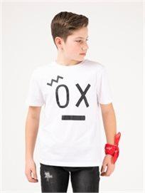טופ עם הדפס Ox